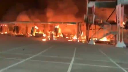 Jerez, a fuoco tutte le MotoE: il via al campionato è a rischio