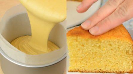 Sponge cake all'arancia: il sofficissimo dessert in una variante ancora più buona