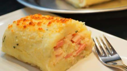 Rotolo di patate ripieno: un'idea gustosa per pranzo o cena