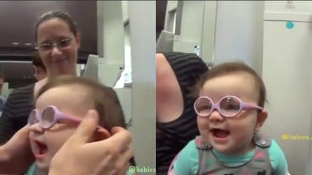 Ha un problema alla vista: prova i suoi primi occhiali