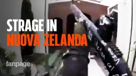 Nuova Zelanda, attacco terroristico in due moschee a Christchurch. Sull'arma il nome di Luca Traini