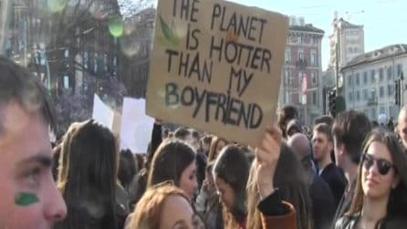 Sciopero per il clima: migliaia in marcia a Milano