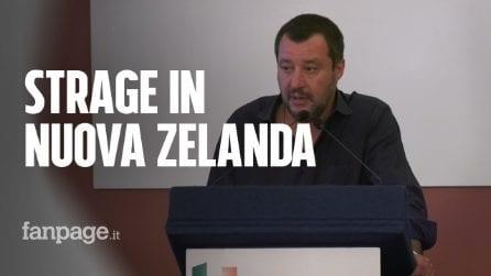 """Strage in Nuova Zelanda, Salvini: """"Unico estremismo da attenzionare è quello islamico"""""""