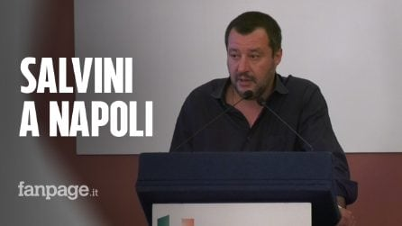 """Matteo Salvini torna a Napoli: """"A Scampia la Vela Verde giù ad aprile"""""""
