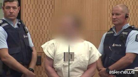 Nuova Zelanda, il killer sorridente all'udienza in tribunale