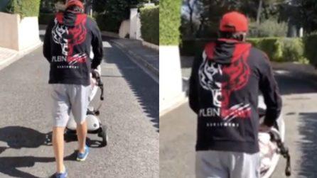 Sébastien Frey si riprende: torna a camminare dopo la malattia