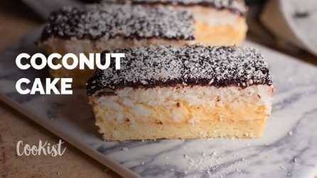 Chocolate and coconut cake: one of the best dessert flavor combinations!