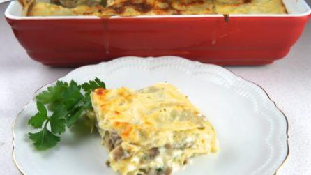 Lasagne bianche con i funghi: cremose e ottime in ogni occasione