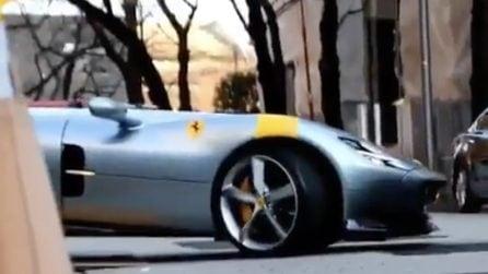 Ferrari Monza SP1, il gioiello in serie limitata del Cavallino
