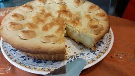 Torta pasticciotto con crema e amarene: i tuoi ospiti ne andranno matti