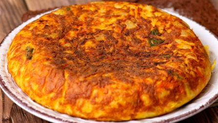 Vegetables omelette: ready in just 15 minutes!