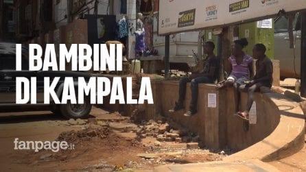 Uganda, la dura vita dei bambini di strada: criminalità, droga e Aids