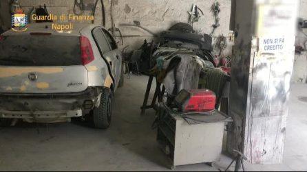 Officina abusiva scoperta a San Giorgio a Cremano dalla Guardia di Finanza