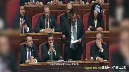 Diciotti, Salvini: decisione del governo, le cose si fanno in due