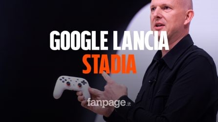 Google presenta Stadia: i videogiochi in streaming su PC, smartphone e TV