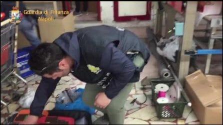 La Guardia di Finanza scopre fabbrica abusiva a Nola: tra i marchi falsificati quello della Juventus