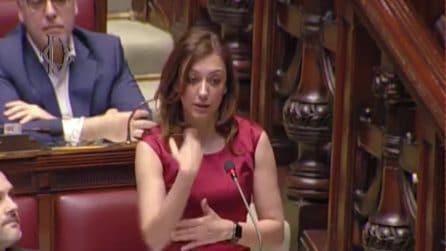 L'intervento nella lingua dei segni della deputata Montaruli per chiedere sostegni alla disabilità