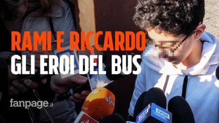 Bus dirottato e incendiato: Rami e Riccardo sono i due bimbi eroi che hanno chiamato i carabinieri