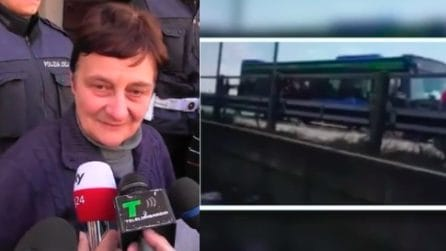 """Terrore sul bus, il racconto della bidella: """"Così ho cercato di aiutare i bambini"""""""