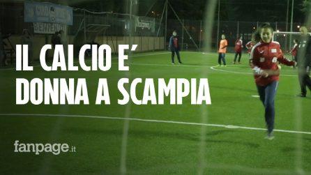 """A Scampia nasce il Dream Team: """"Siamo donne e vogliamo giocare al calcio"""""""