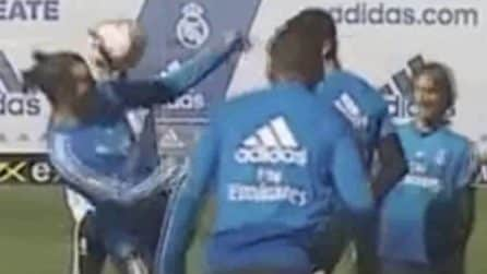 La magia di Bale durante il torero in allenamento: giocata impressionante della stella del Real