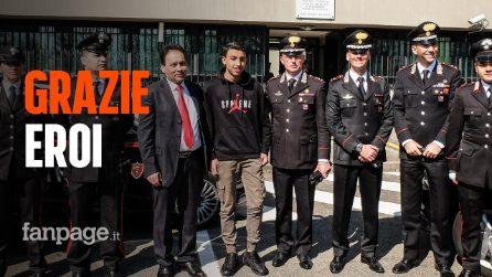 Milano, bus in fiamme dirottato: le telefonate shock ai carabinieri eroi