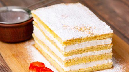 Torta soffice alla vaniglia: troppo buona per non provarla!