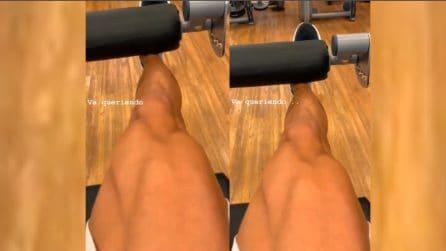 Il Pocho Lavezzi si allena in palestra: l'incredibile muscolatura