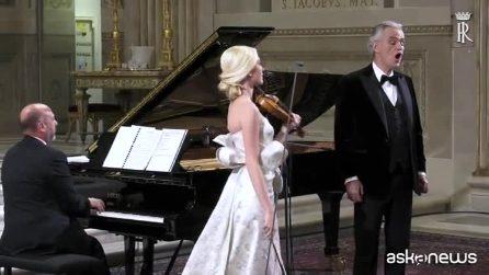 Italia-Cina, al Quirinale concerto di Bocelli per Xi Jinping