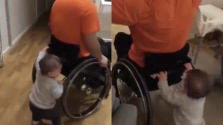 Vuole aiutare il padre: il piccolo dà una grande dimostrazione d'amore