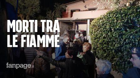 """Esplosione a Frascati, vittime padre e figlio: """"Morti tra le fiamme, non potevamo avvicinarci"""""""