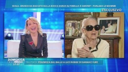 """Domenica Live, Anna Brosio: """"Barbara D'Urso sei diventata bravissima"""""""