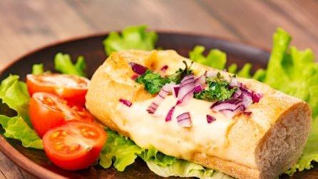 Baguette ripiene: facili, veloci e super gustose!