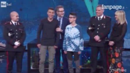 """Bus dirottato, Ramy e Adam : """"Da grandi faremo i carabinieri"""""""