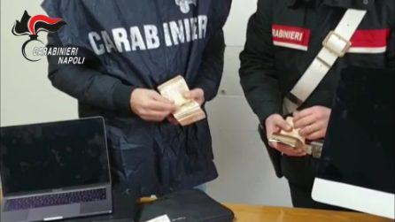 Blitz in casa del nipote di Raffaele Amato, trovati soldi, gioielli e appunti