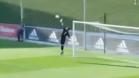 Fenomeno vero tra i pali, come il padre in campo: le super parate di Luca Zidane