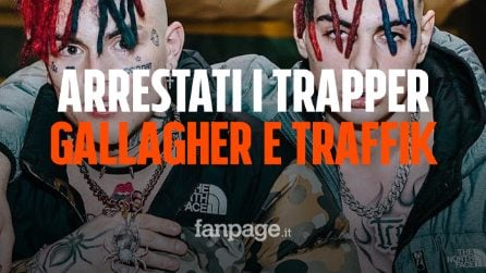 Cantano 'Diamanti razzisti' e rapinano un immigrato: arrestati i trapper Gallagher e Traffik