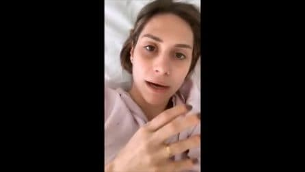 """Beatrice Valli ricoverata in ospedale: """"Stavo molto male"""""""