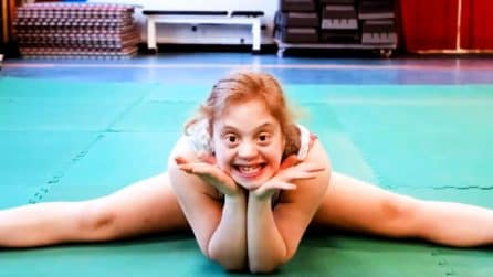 Veronica Paccagnella, la ginnasta-guerriera con la sindrome di Down che ha conquistato Abu Dhabi