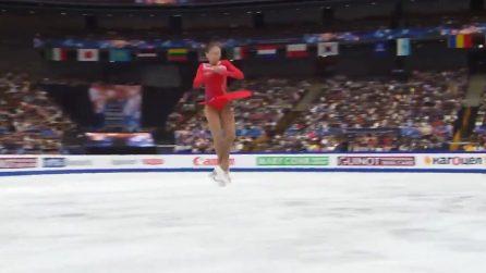 Pattinaggio, meraviglioso salto quadruplo: atleta 22enne entra nella storia