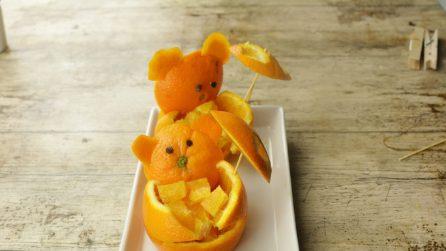 3 creazioni divertenti con le arance: i bambini le ameranno!