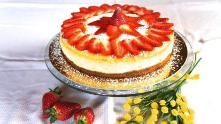 Cheesecake alle fragole: un dolce dal sapore unico
