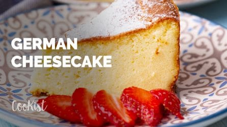 German cheesecake: you've never tasted such a creamy cake before!
