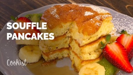 Souffle japanese pancakes recipe: the fluffiest pancakes ever!