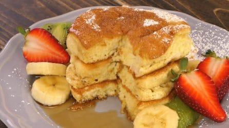 Pancakes souffle: la ricetta giapponese originale per i pancakes più soffici di sempre!