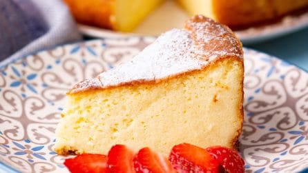 German cheesecake: cremosa e piena di sapore!