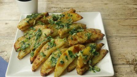 Patate al forno con aglio e prezzemolo: una variante semplice e gustosa!