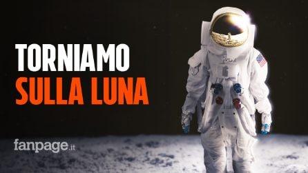 """La NASA annuncia che l'uomo tornerà sulla luna entro il 2024: """"Questa volte è per restare"""""""