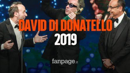 """David di Donatello: """"Dogman"""" miglior film e Alessandro Borghi dedica la vittoria a Stefano Cucchi"""