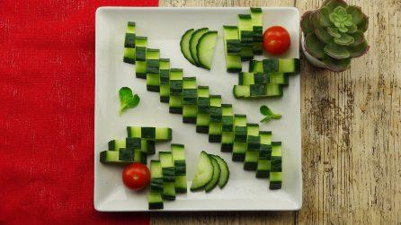 Decorazioni con la frutta: ti servirà solo un coltello per realizzarle!